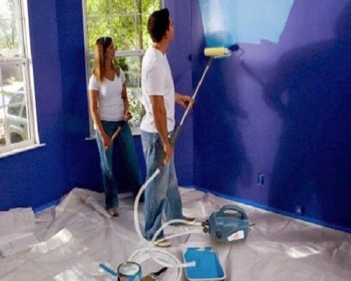 rouleau peindre t lescopique peindre comme des pro maison bricolage. Black Bedroom Furniture Sets. Home Design Ideas