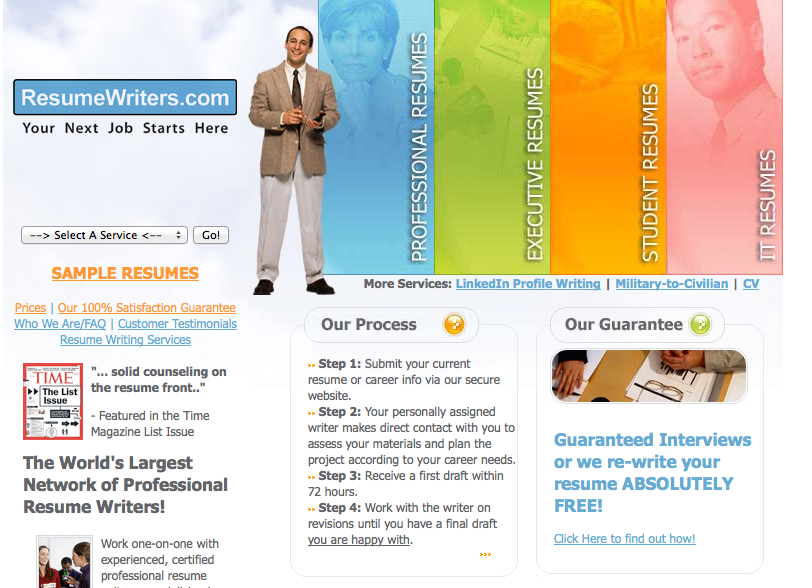 Top 10 professional resume writing services