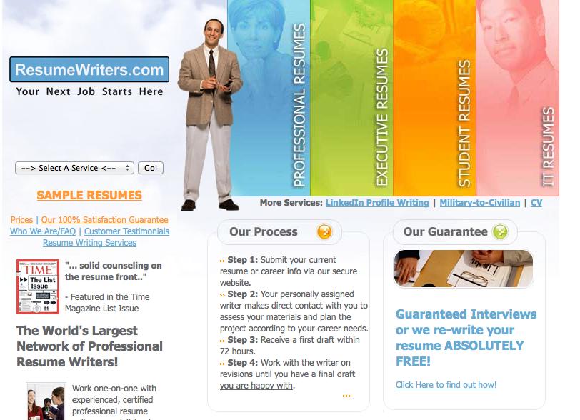 Resumewriterscom Review Top 10 Professional Resume Writing