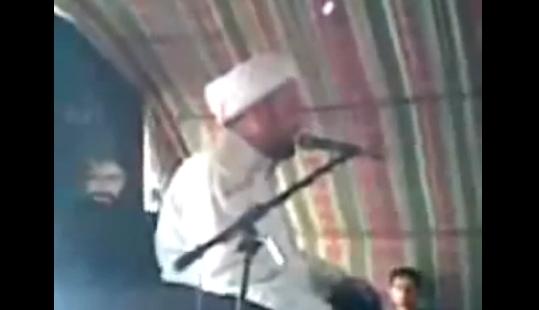 Video Imam Syiah Mati Dihempap Kipas Ketika Berceramah