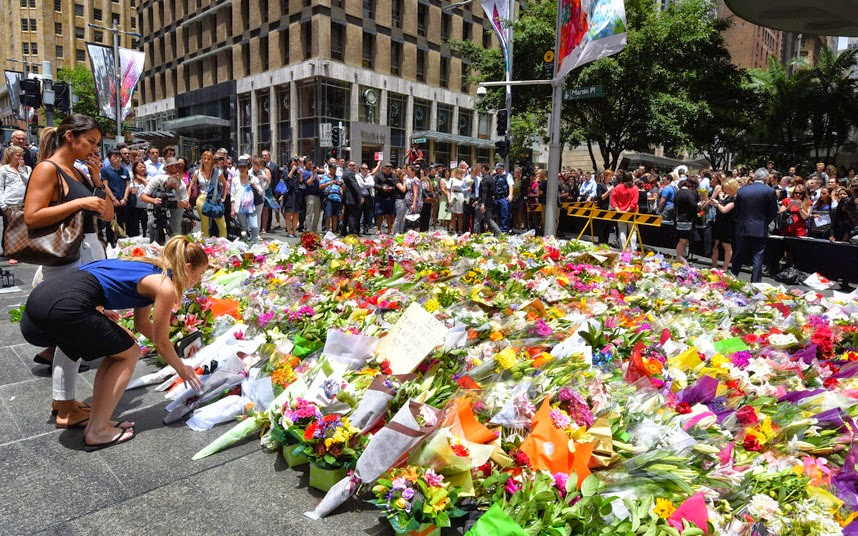 #illridewithyou Terror attack on Lindt cafe in Sydney