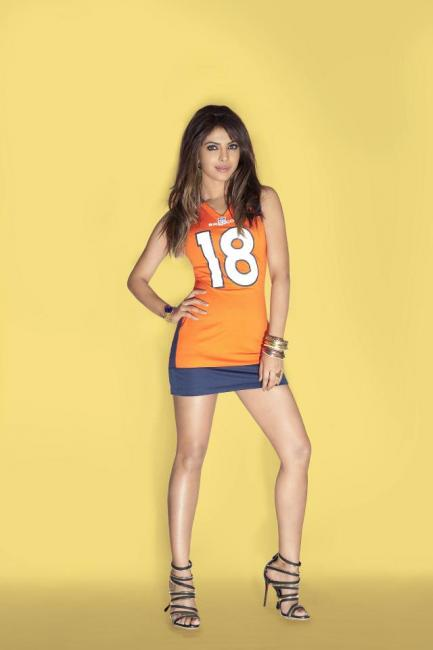 Priyanka Chopra NFL Hot Photoshoot