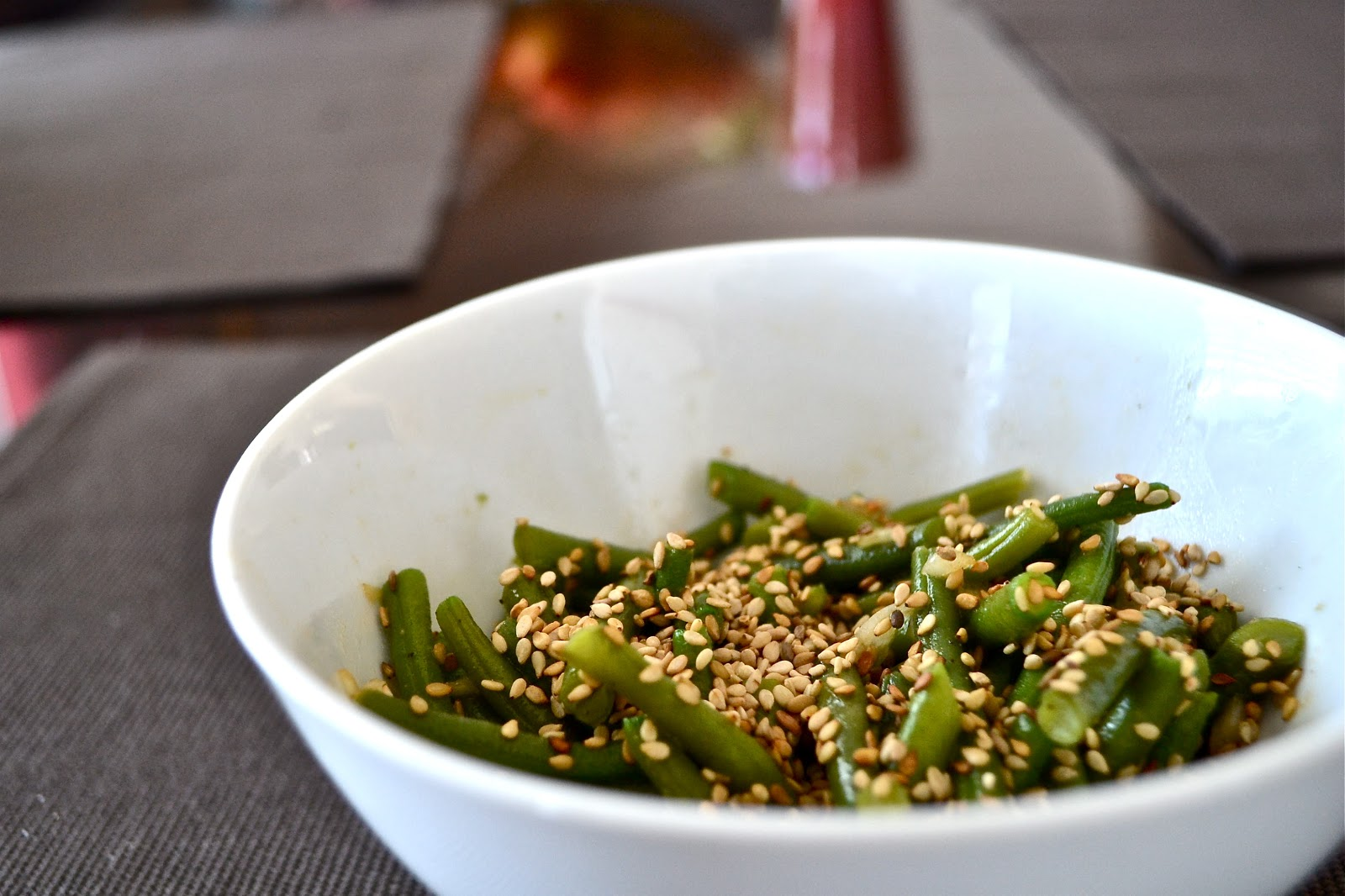Cooking for a Smile: Warm Green Bean Salad