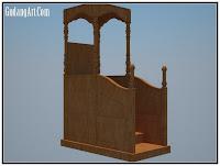 mimbar masjid GA2