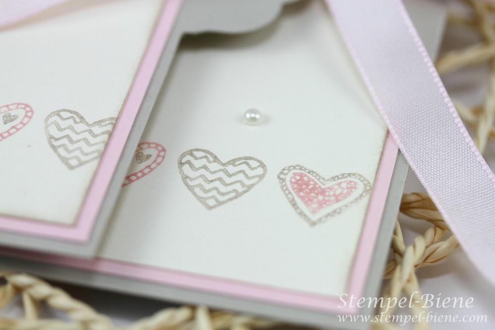 Stempel biene babykarte mit stampin 39 up das sch nste geschenk for Geschenke buchen