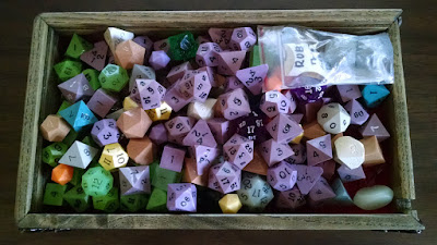 Most of my Gamescience dice