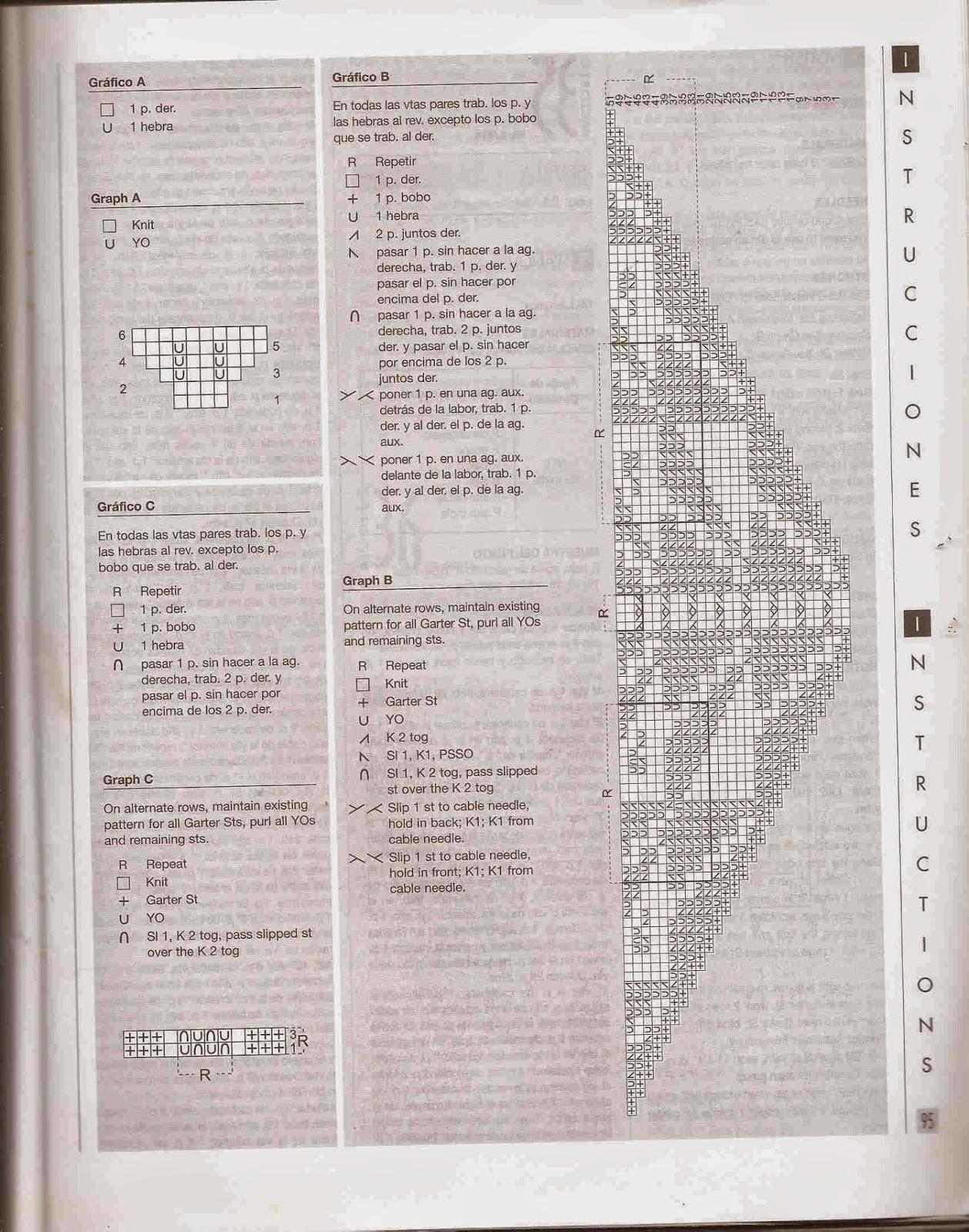 #66 Chal o Poncho a Dos Agujas o Knitting