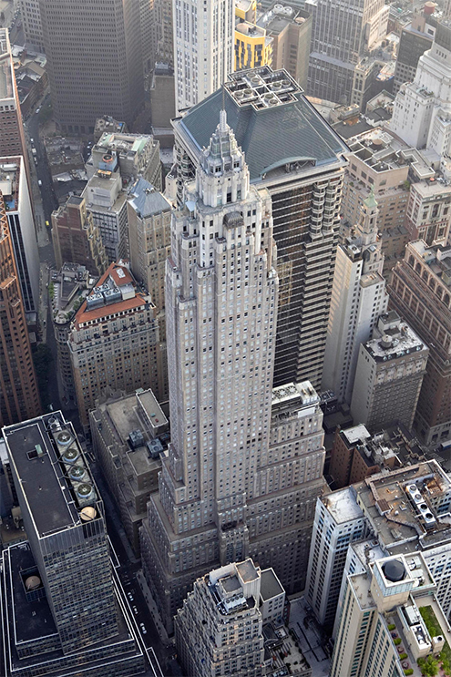 Aig Building In New York