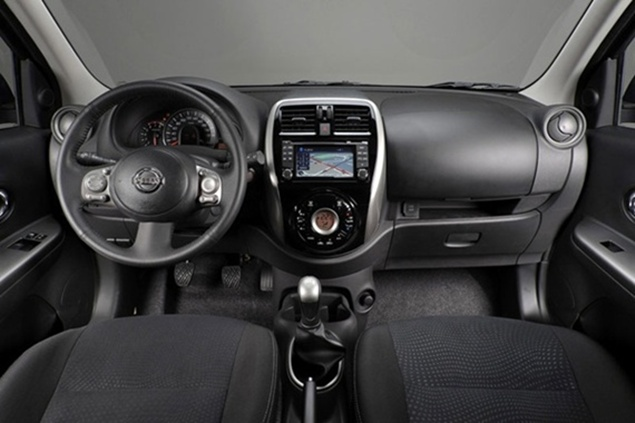 Nissan March Interior