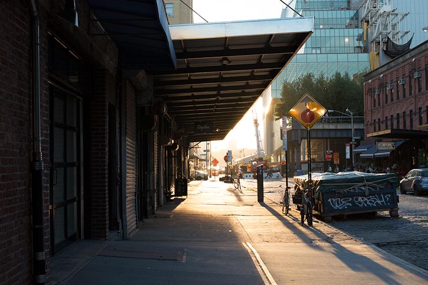 the petticoat alexander wang skirt new york lights sirographics postcards