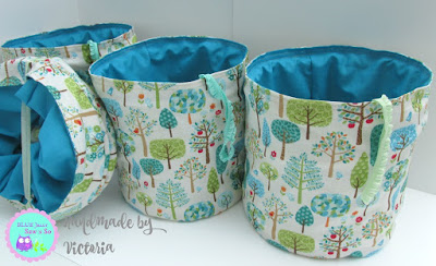 Fabric_Pop_up_Bin_Desk_Tidy_Trendy_Trees_1