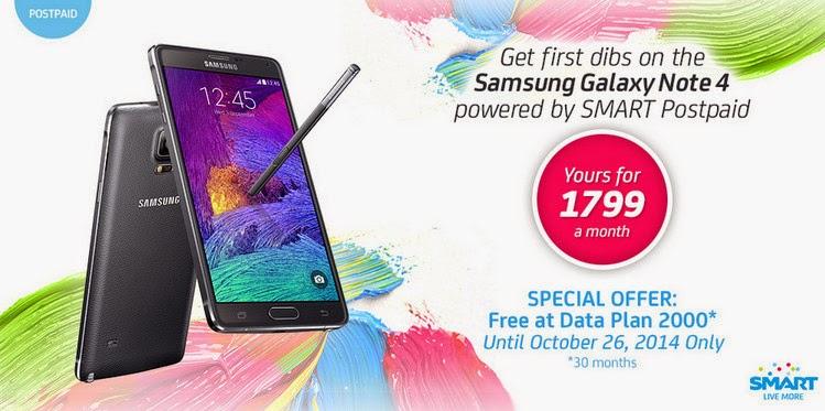 Smart Galaxy Note 4