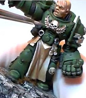 Warhammer 40000 Marines Espacial Angeles Oscuros