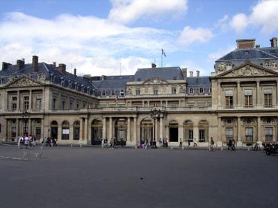 Palacio Real de Paris - que visitar