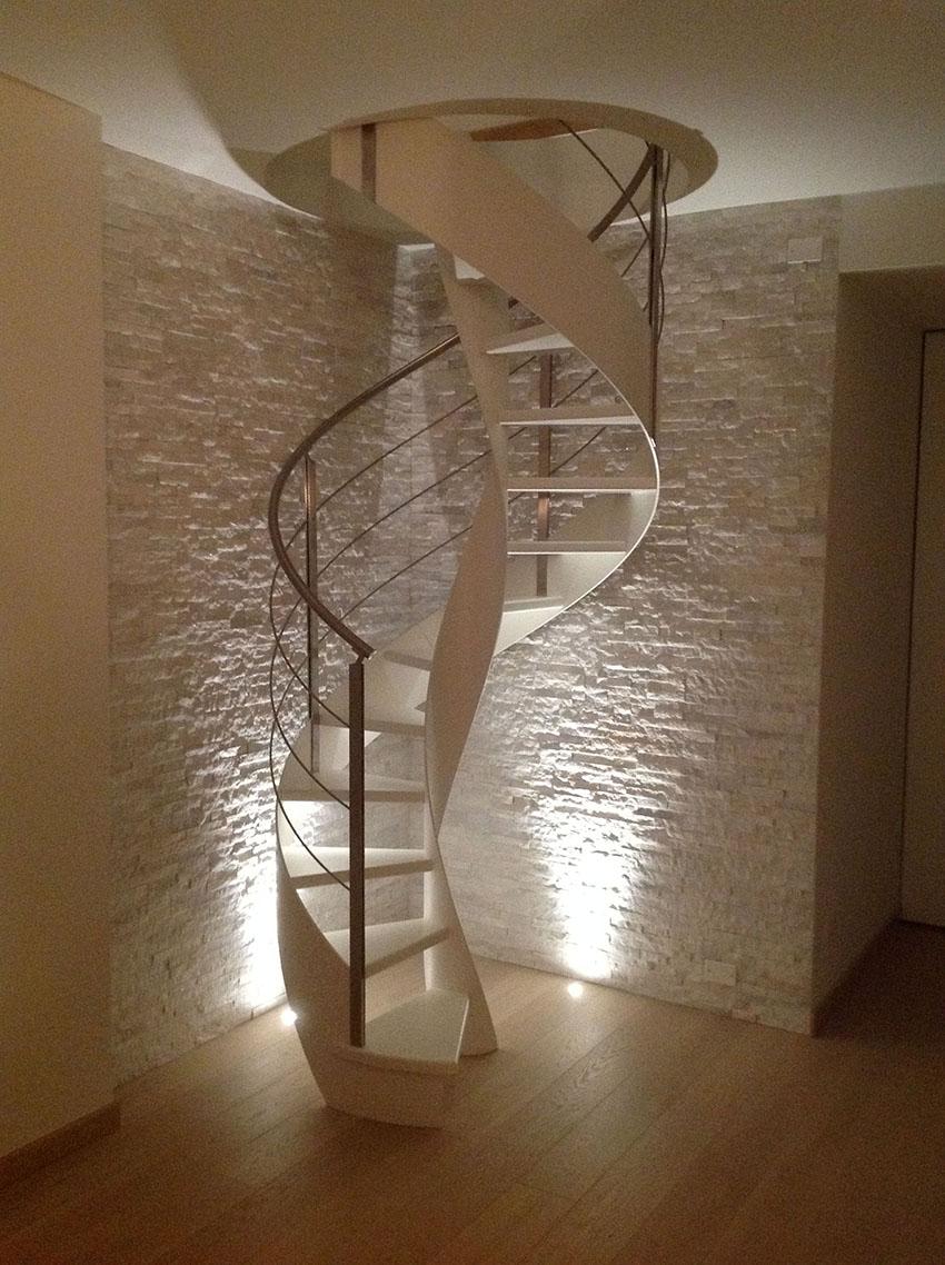 Arredo e design le piccole grandi scale di rizzi - Scale ad angolo ...