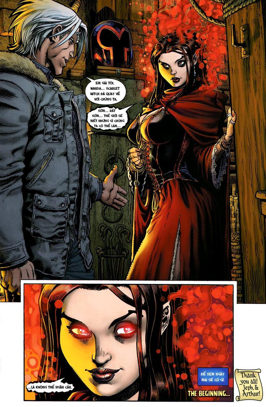 TruyenHay.Com - Ảnh 22 - Ultimate Comics X Chap 5
