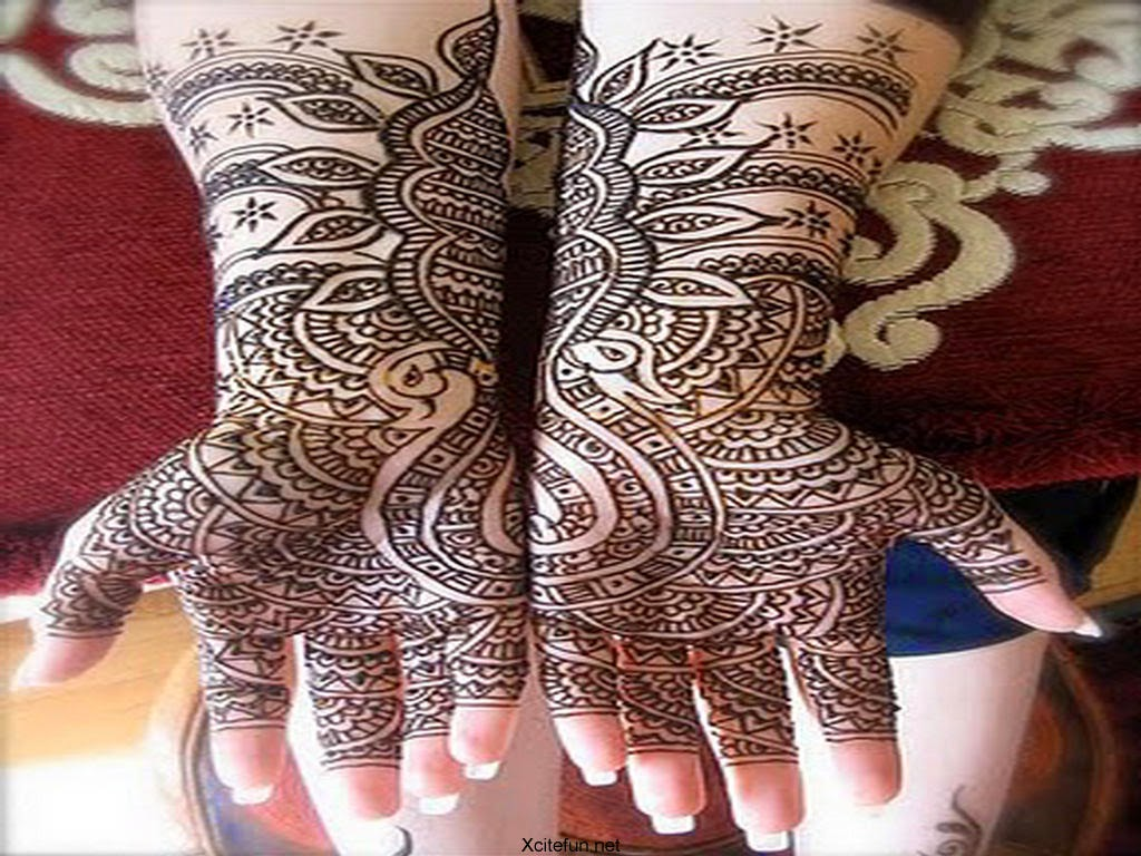 new Eid ul Fittar mehndi designs 2014