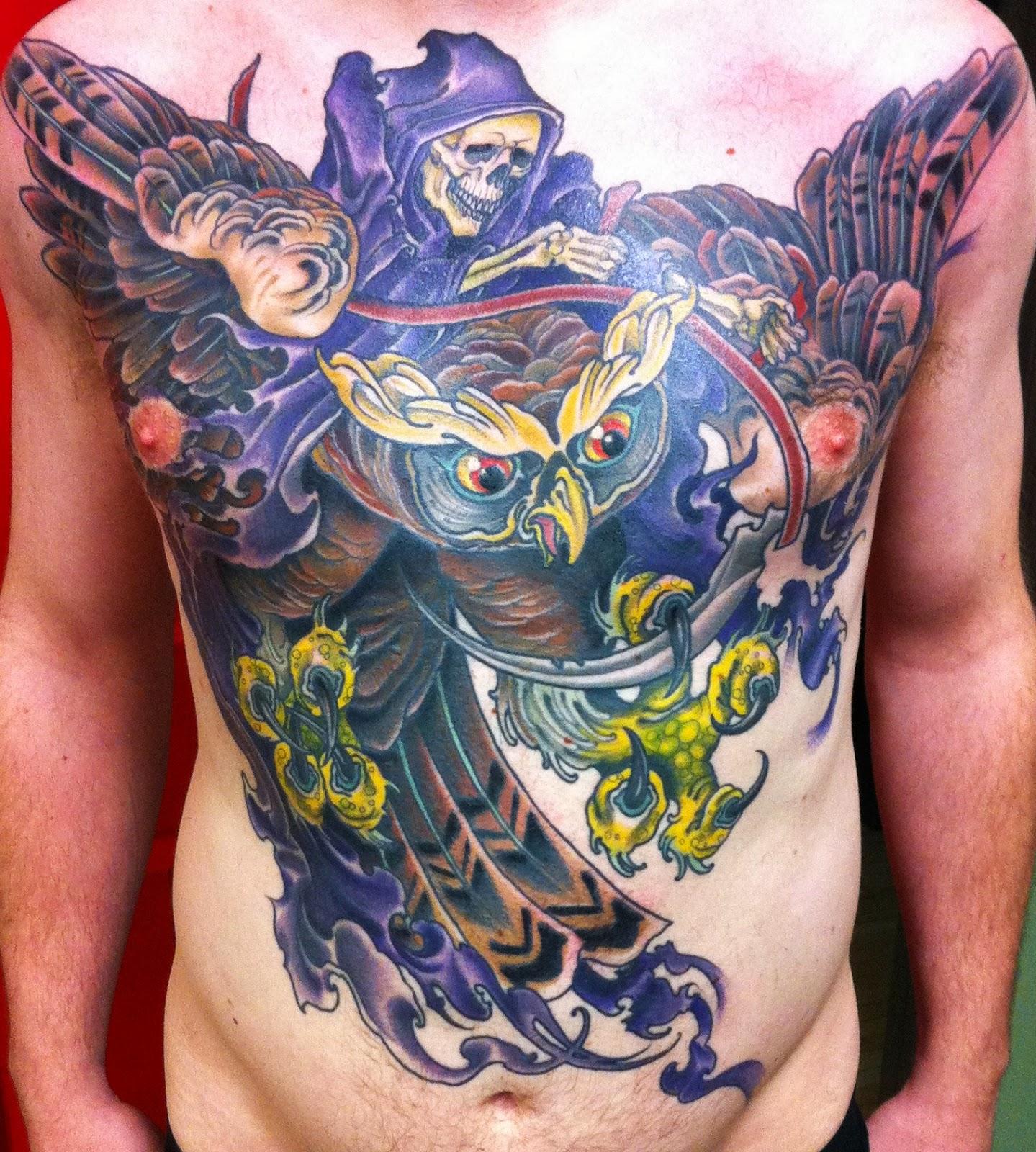 Tattoo Designs Grim Reaper: Great Grim Reaper Tattoo Ideas