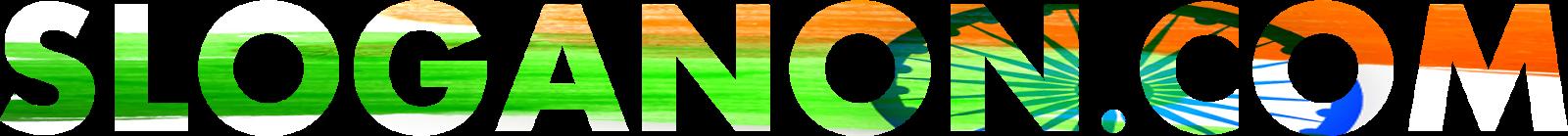 slogan on