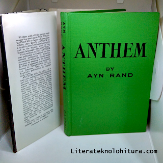 anthem by ayn rand without dusk jacket