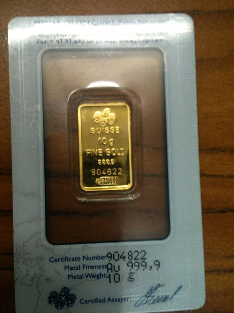 Singapore Gold Bars