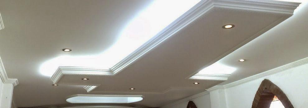 Pladur y escayola techos y paredes de carton yeso - Techos de escayola modernos ...