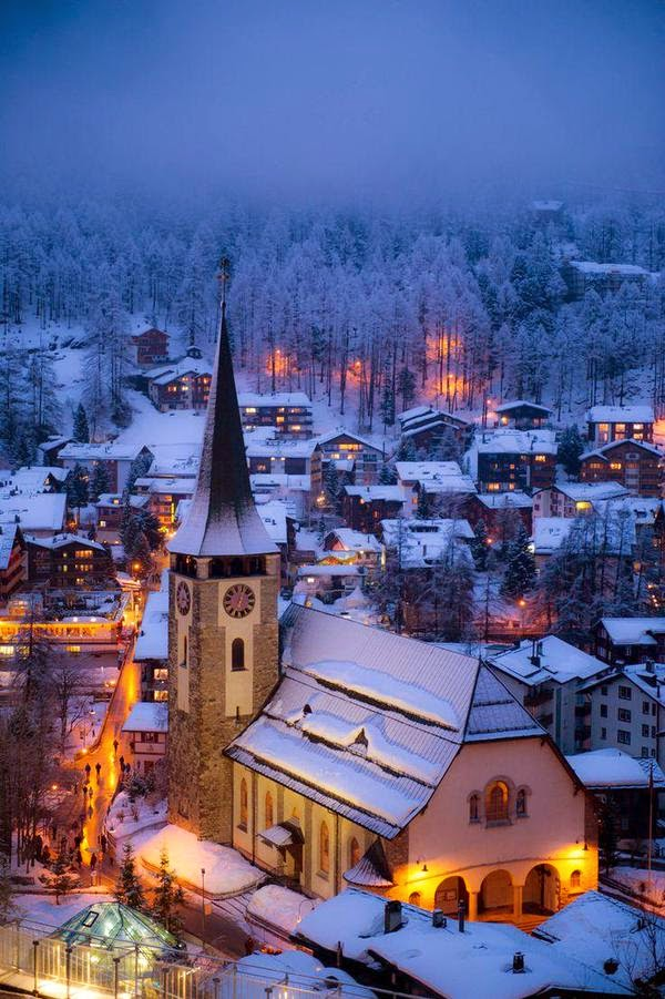 Zermatt Village, Switzerland
