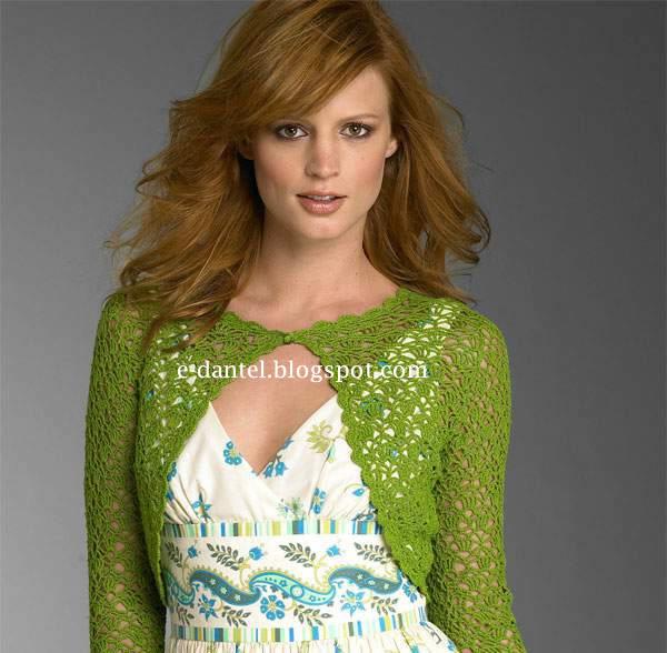 Kolay Örülen2013 yılı moda bolero modeli