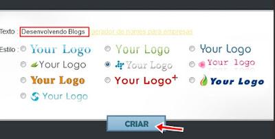 Criar uma logomarca online e grátis para seu blog