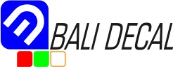 BALI DECALS