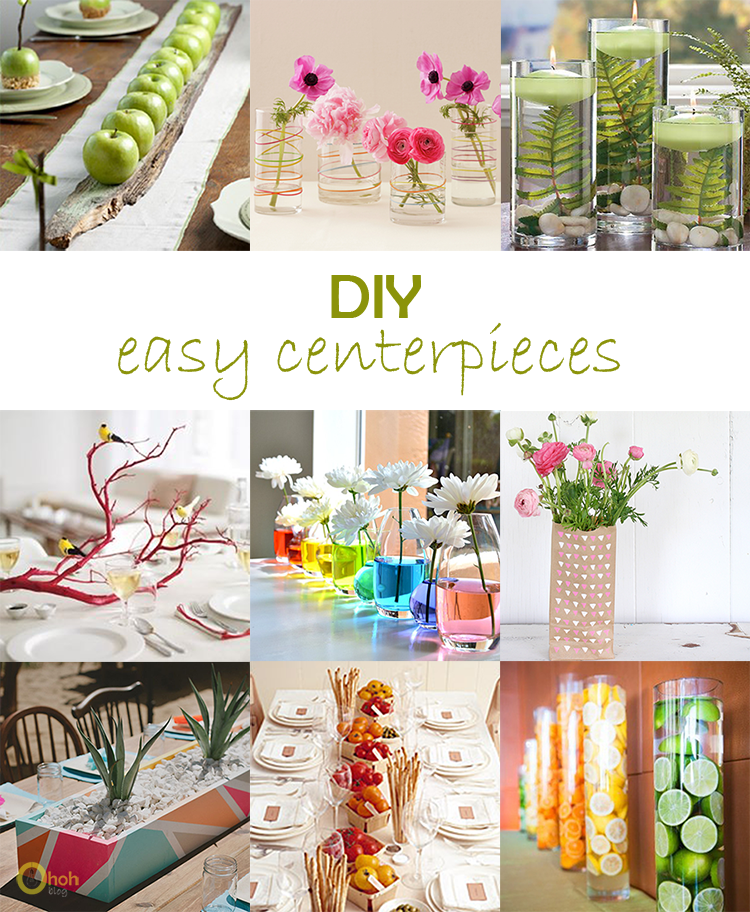 DIY Monday # Centerpieces