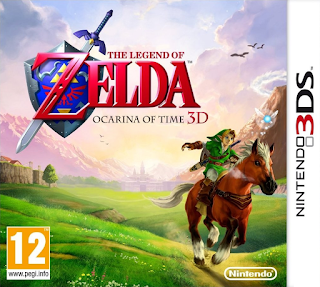 The Legend of Zelda: Ocarina of Time 3D USA 3DS GAME [.3DS]