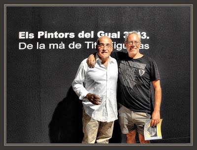 TARRAGONA-PINTURA-PORT-TINGLADO-PINTORES-TITO FIGUERAS-ERNEST DESCALS-