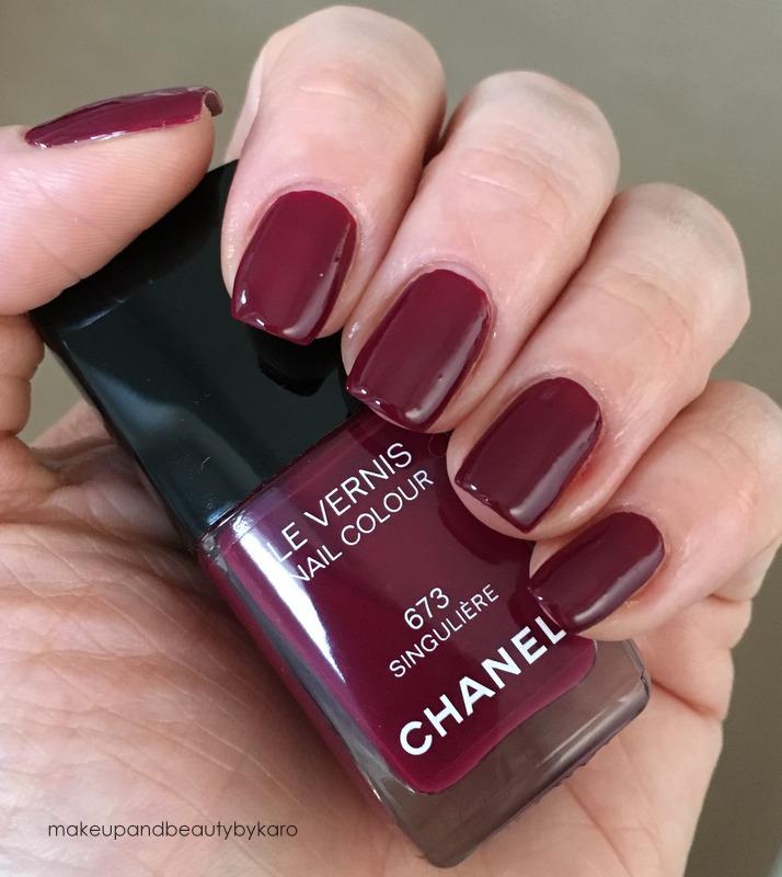 makeup beauty by karo chanel singuli re 673. Black Bedroom Furniture Sets. Home Design Ideas