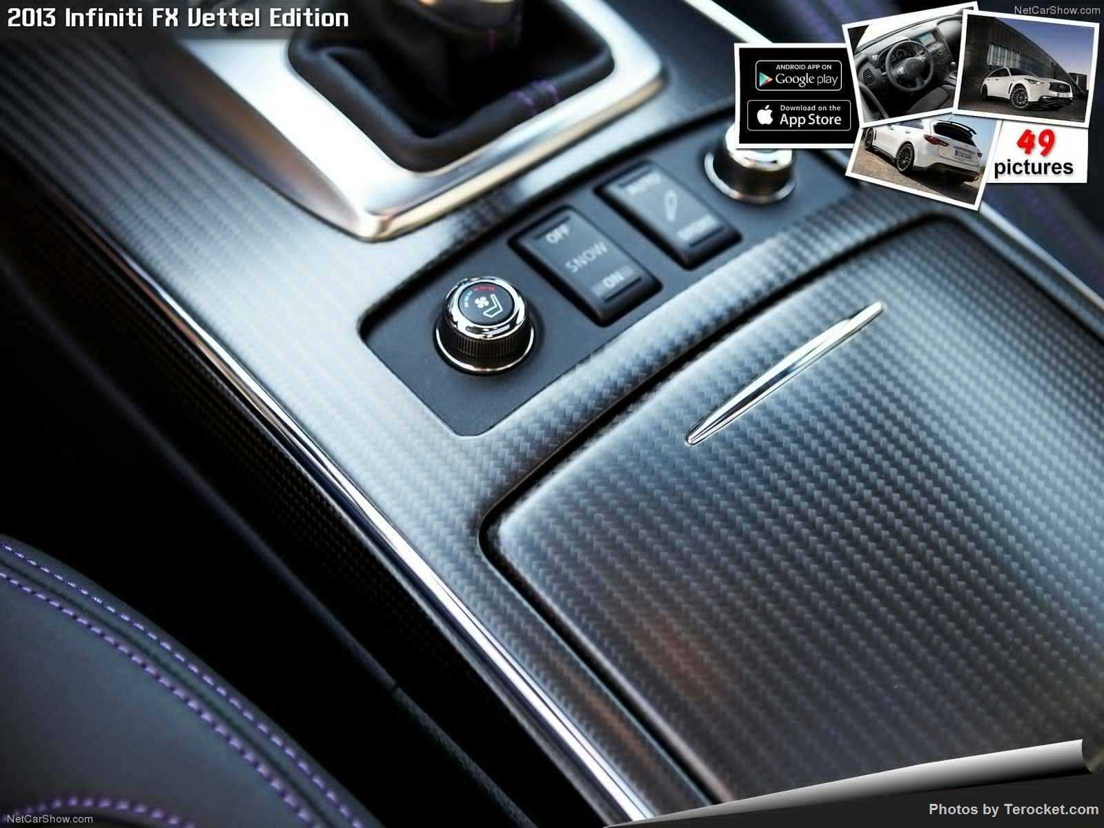 Hình ảnh xe ô tô Infiniti FX Vettel Edition 2013 & nội ngoại thất