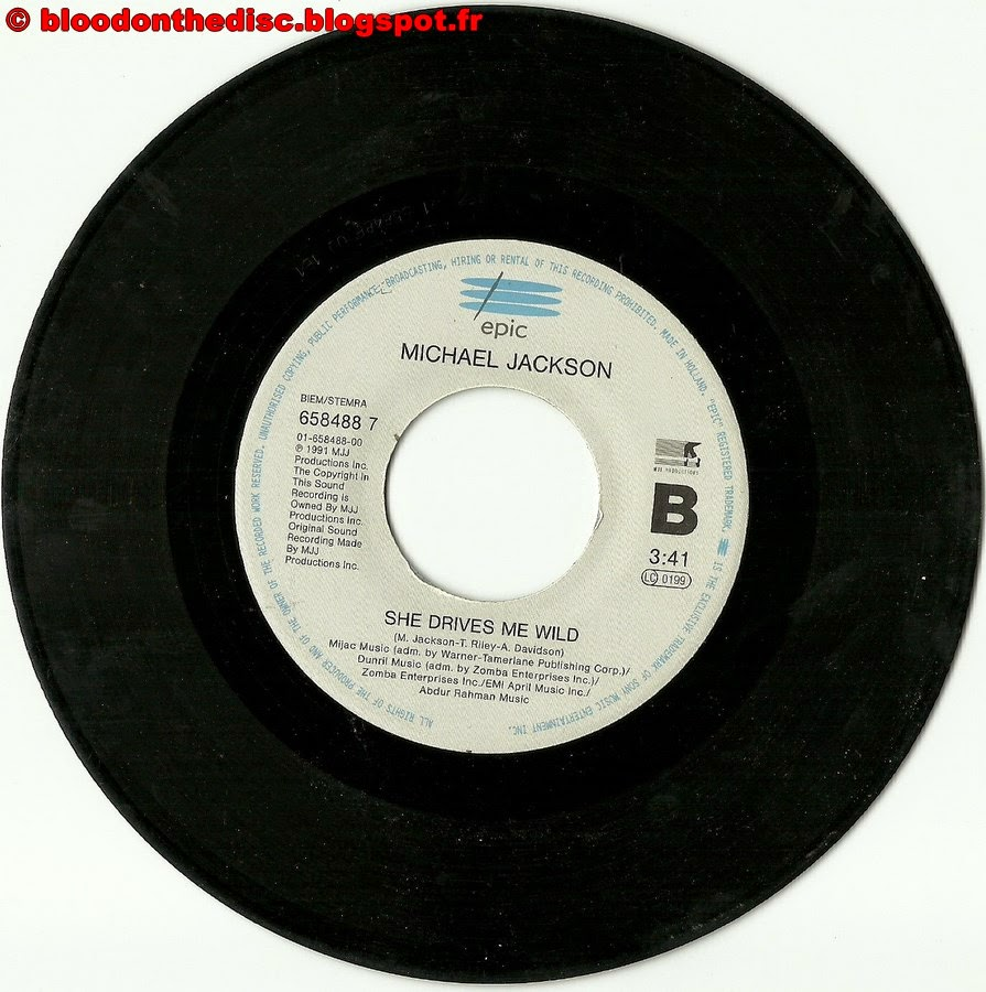 Heal The World 45T Side B