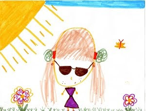 Portrait of me, by Eden