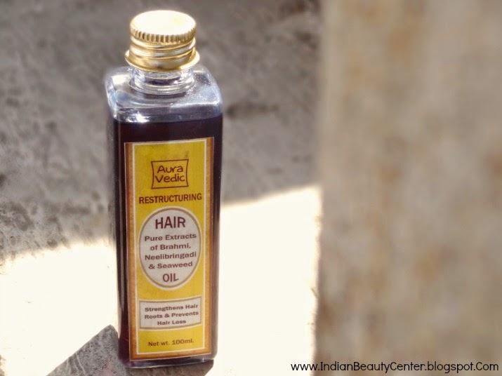 Auravedic Restructuring Brahmi, Neelibringadi & Seaweed Hair Oil Review