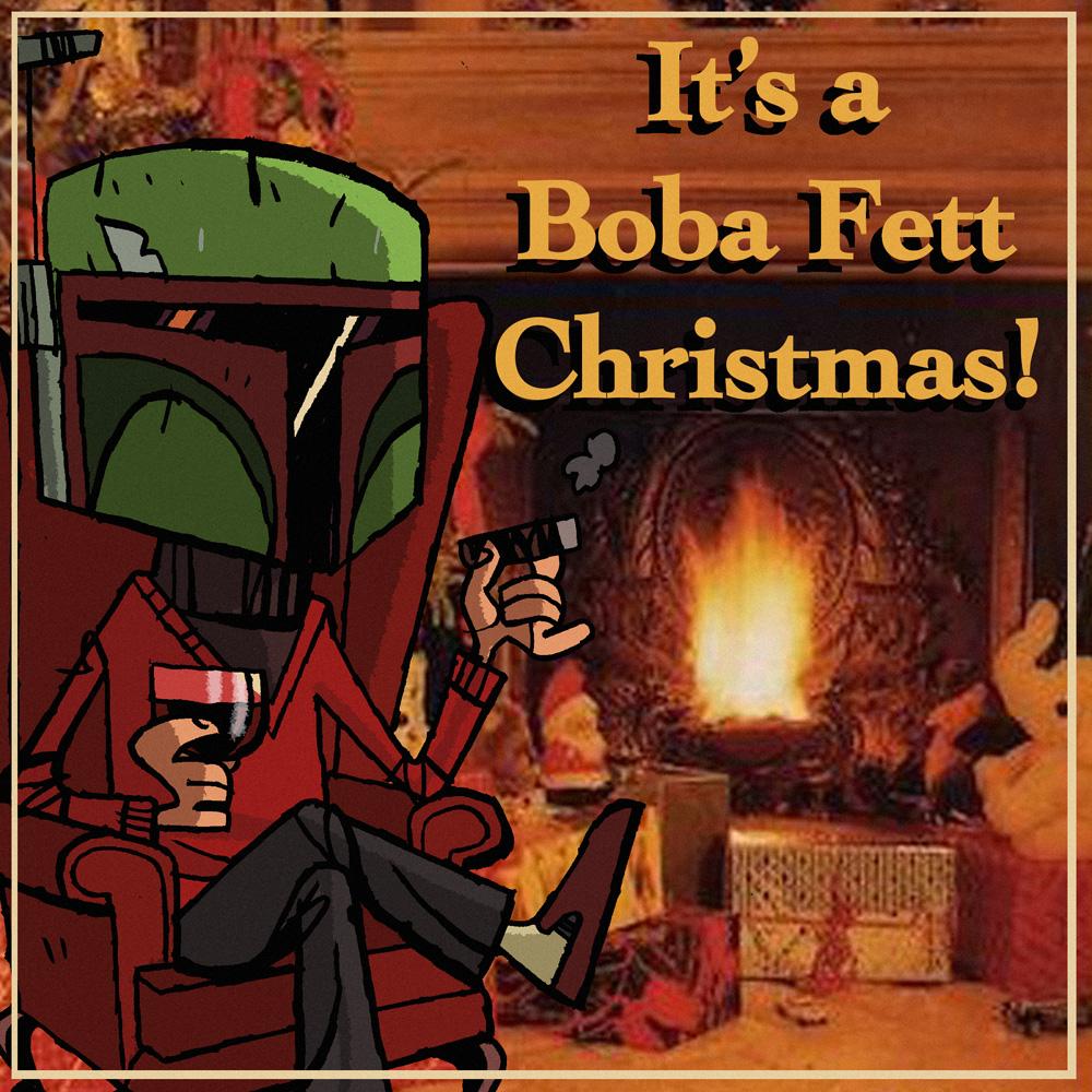 I Heart Pencils: It's a Boba Fett Christmas