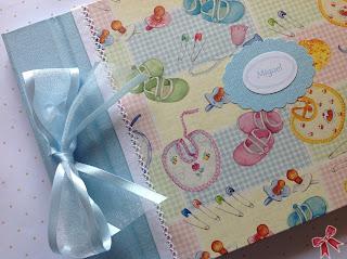 Libro del bebé cartonnage