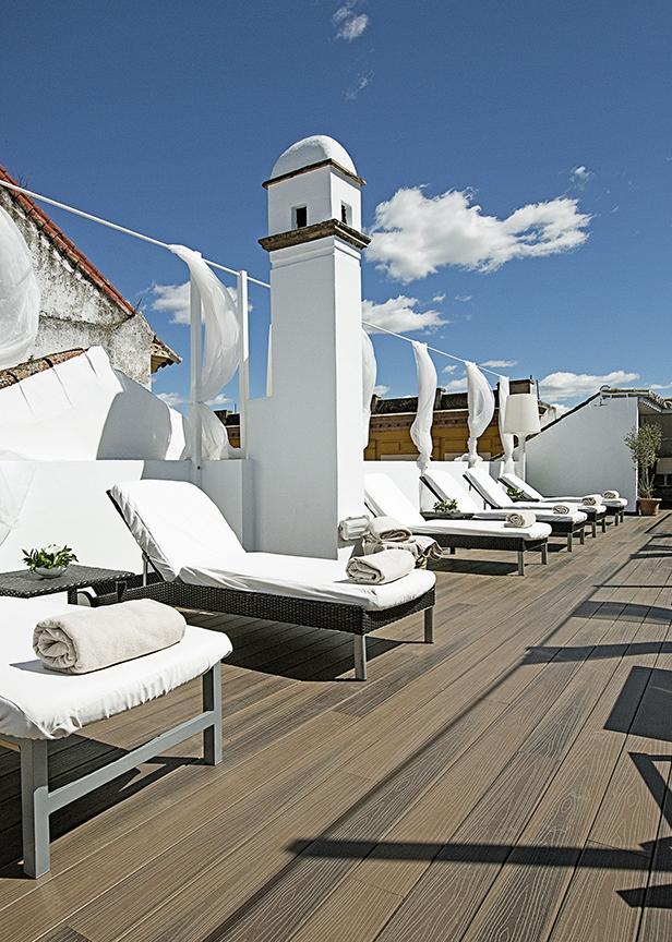 Las casas del Rey Baeza hotel cpn encanto ubicado en el centro de Sevilla