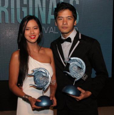 Cinema One Originals Best Actor and Actress, Alex Medina and Mara Lopez