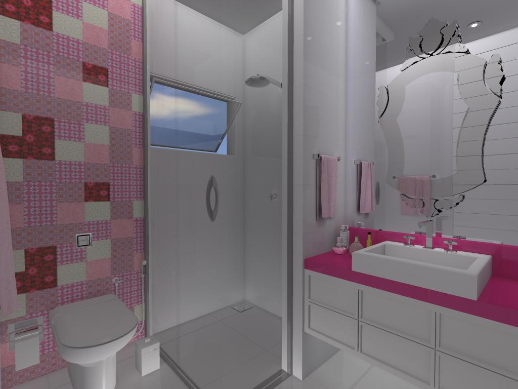 Fernanda Moschetta: Projeto Residencial de Interiores Banheiros 4 #693547 1024 768