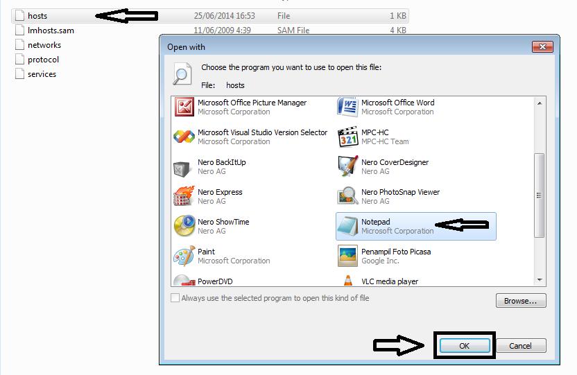 Buka File Host