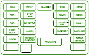2007 chevy aveo fuse diagram 2007 wiring diagrams online