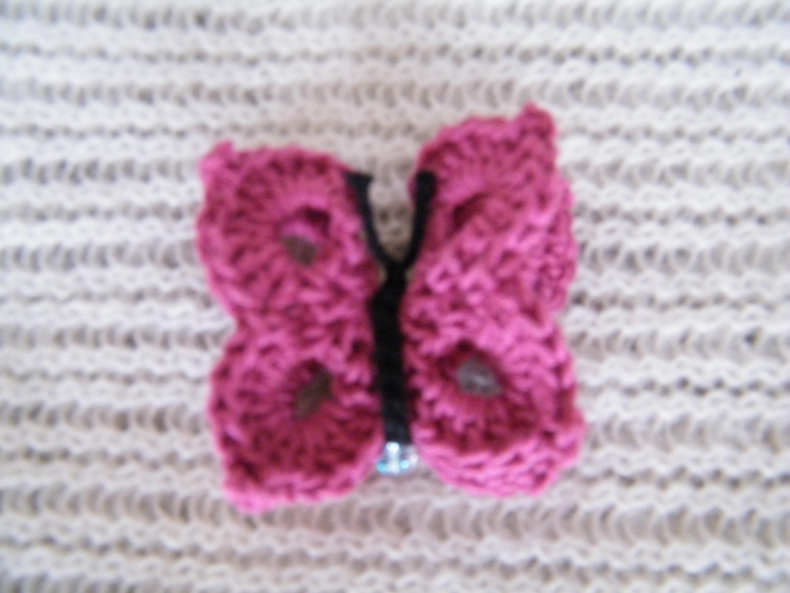 Mariposas Tejidas En Crochet