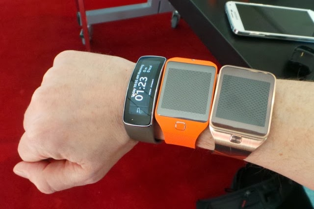 Samsung smartwatches: Gear 2, Gear 2 Neo, and Gear Fit