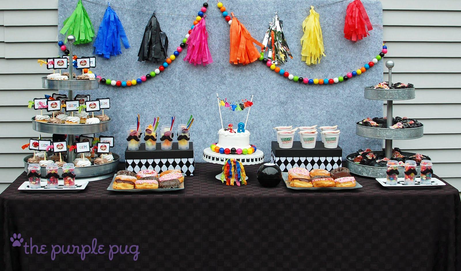 Mario Birthday Party Ideas