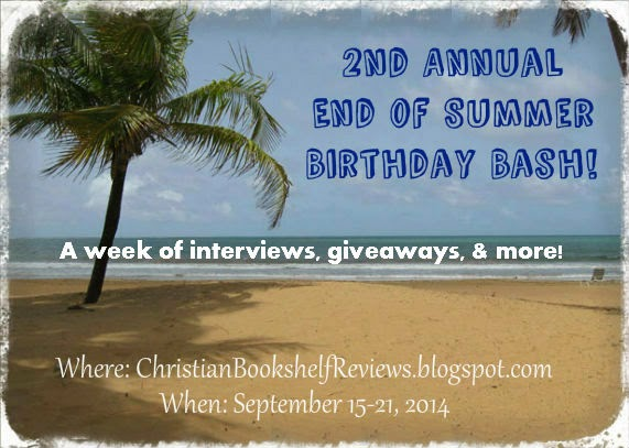 http://christianbookshelfreviews.blogspot.com/search/label/End%20of%20Summer%20Birthday%20Bash