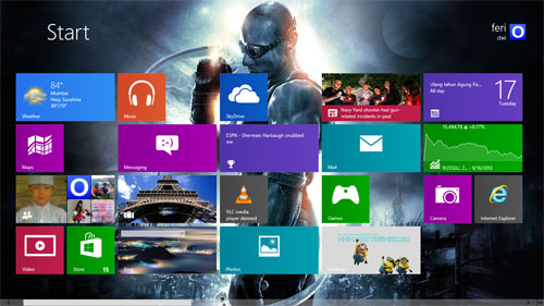 Riddick Theme For Windows 7 And 8 8.1